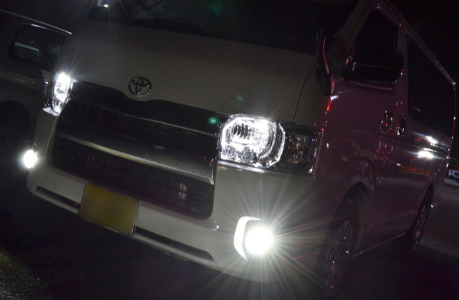 Cree社LED使用証明書